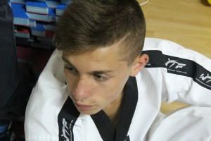 L'atleta barcellonese Alberto Crisafulli