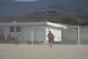 Il gol del vantaggio della Tiger siglato da Fabio Buda