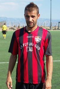 L'attaccante Gianluca La Speme (scatto di R.S.)