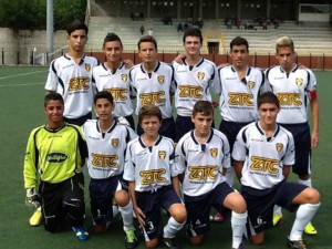 L'undici iniziale dei Giovanissimi Regionali che hanno piegato la Futura Brolo nel primo turno di campionato