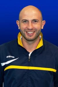 L'allenatore Giovanni Russo