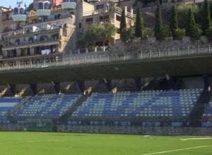 """Una veduta dello Stadio """"Bacigalupo"""" di Taormina"""