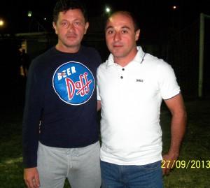 Il presidente Salvatore Velardo e il consigliere Alessandro Pinizzotto