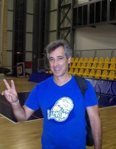 Il tecnico itallo-argentino Jorge Cannestracci del Volley Brollo