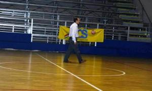 L'allenatore del San Gabriele Francesco Pati