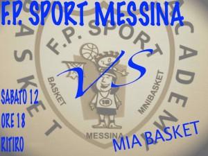 La locandina del derby FP Sport-MIa