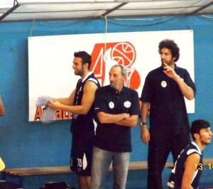 Il coach Lillo Lucifero e Agostino Li Vecchi (Milazzo)