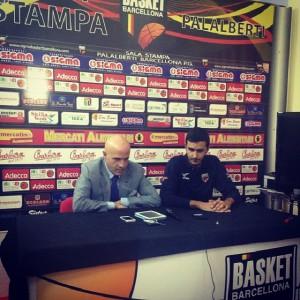 Il presidente Bonina in conferenza stampa