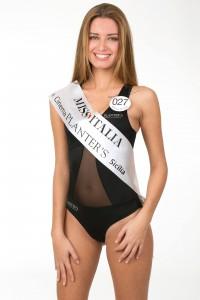 La messinese Giulia Arena, candidata al titolo di Miss Italia 2013