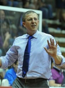 L'allenatore di Casale Monferrato Giulio Griccioli