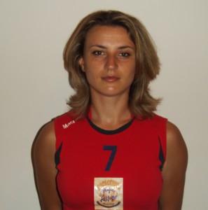 La schiacciatrice Andreea Serban