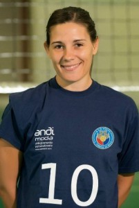Alessandra Maccarrone, capitano dell'Effe Volley S. Teresa
