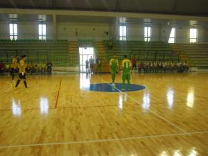 Il calcio d'inizio di Città di Villafranca-Futsal Melito