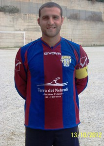 Il centrocampista Dario Cannistraci
