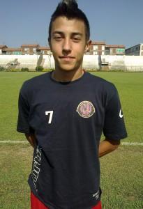 Il giovane Manuel Crisafi