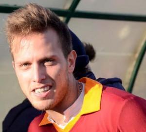Il centrocampista Emanuele Cutaia