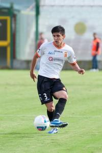 L'argentino Elias Scoponi, all'esordio assoluto con la maglia biancoscudata  (foto Alessio Costa)
