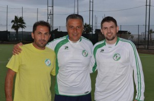 Da sinistra Gianluca Piscardi, Nino Rinaldi e Rafael Salomao