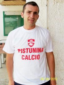 Il centrocampista del Pistunina Nino De Maria