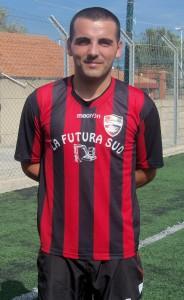 Il centrocampista Enrico Durante