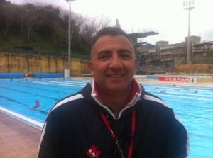 Giovanni Puliafito, allenatore della WP Messina
