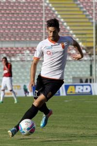 L'attaccante Daniele Buongiorno, inserito da Catalano nel finale per tentare una disperata rimonta  (foto Luca Maricchiolo)