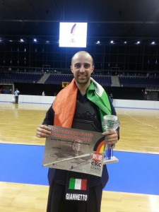 Giuseppe Giannetto Campione Europeo 2013