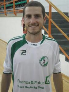 Il laterale Marcus Ferreira, protagonista con quattro reti