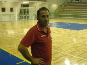 L'allenatore dell'Under 21 del Città di Villafranca Gianluca Piscardi