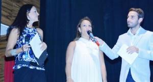 Da sinistra Loredana Bruno, Silvia Bosurgi e Massimiliano Cavaleri