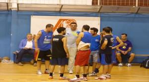 Il Castanea in allenamento