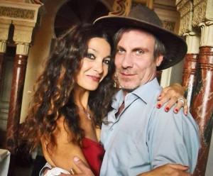 Marina Suma nella scena con Mario Opinato