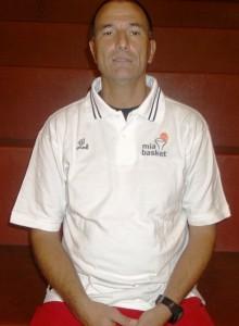 Il tecnico della Mia Basket Massimo Sigillo