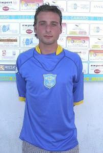 Il centrocampista Gianluca Oro