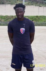 L'ivoriano del Città di Milazzo Sansan Hien