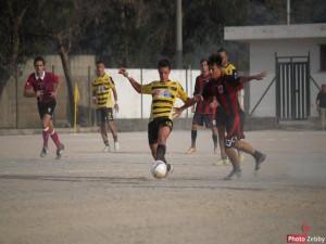 Una fase di gioco del derby fra Rometta e Tiger Brolo