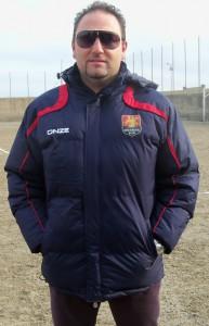 Salvatore Giacobbe, allenatore del Pistunina Juniores