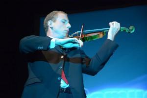 Il violinista Samuele Galeano