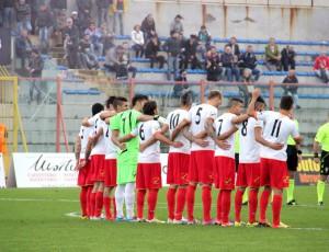 """La formazione titolare del Messina scesa in campo al """"Pinto"""" (foto Paolo Furrer)"""