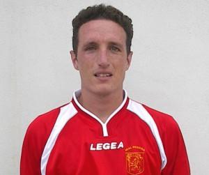 Il centrocampista Piero Berenato (scatto di R.S.)