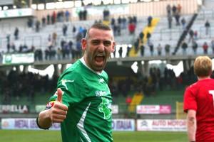 L'attaccante dell'Avellino Luigi Castaldo (foto tratta da avellino-calcio.it)