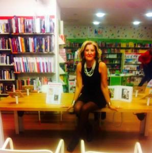 La scrittrice messinese Cinzia Alibrandi