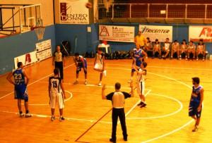 Roberto Bellmo (Mia Basket) in lunetta