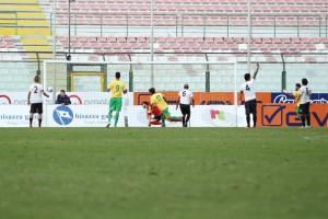 Il gol di Cruz (Melfi) al San Filippo