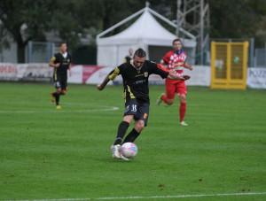 Mirko Guadalupi in azione a Gavorrano (foto Paolo Furrer)
