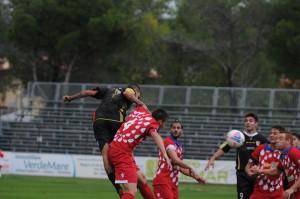 Il gol di Silvestri valso il successo a Gavorrano