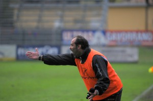 Il tecnico giallorosso Gaetano Catalano