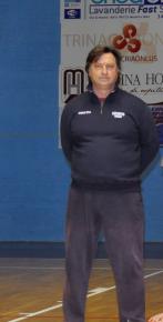 L'allenatore del San Gabriele Francesco Rabe