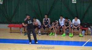 La panchina dell'FP Sport Messina