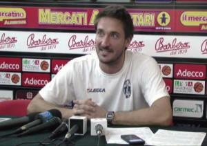 Pozzecco in conferenza stampa al PalAlberti